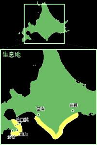 日高昆布地図