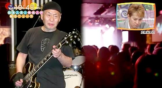 ワイドナショー画像 泉谷しげるのライブで客が負傷 泉谷しげる「もうギターは投げない」 2015年8月9日