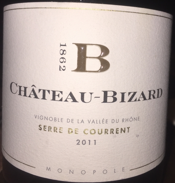 Chateau Bizard Serre de Courrent 2011