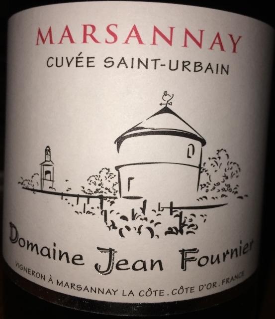 Marsannay Cuvee Saint Urbain Domaine Jean Fournier 2010