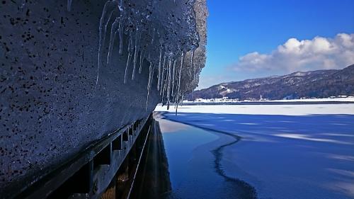 冬の木崎湖2