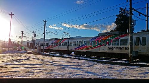 新村にてHaighland Rail