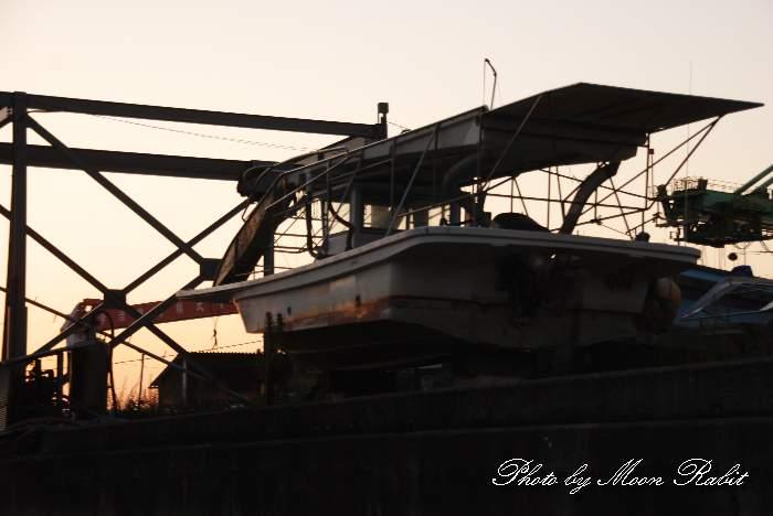 漁船 玉津漁港 愛媛県西条市船屋