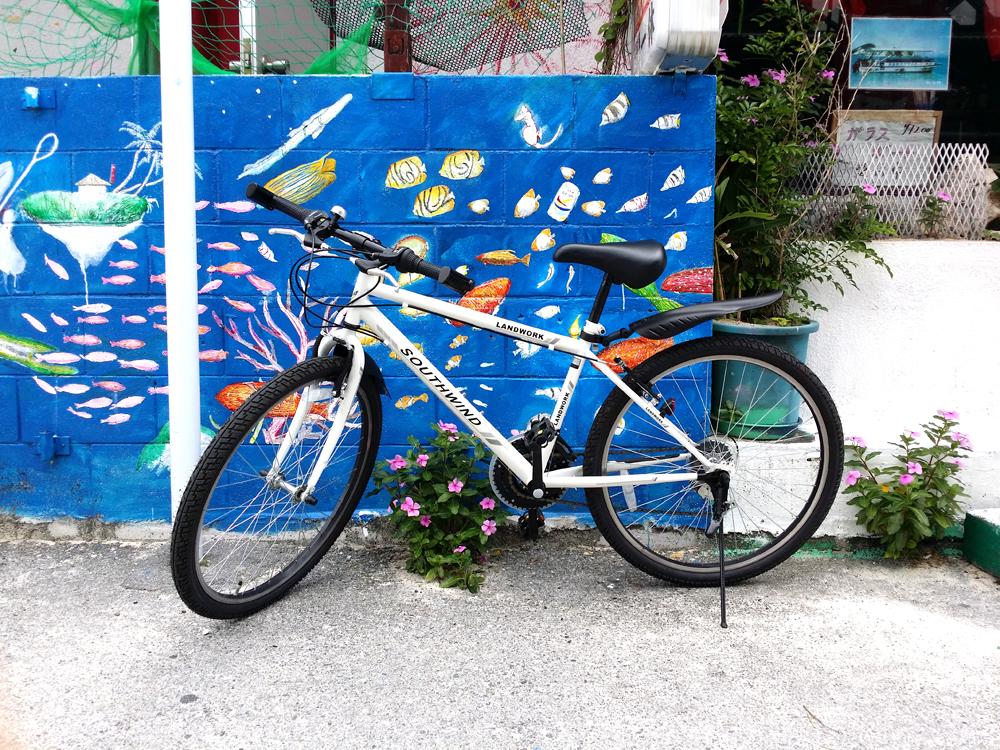 自転車借りた