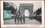 フランス・パリ解放絵葉書