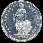 スイス・1フラン・コイン