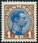 デンマーク・1クローネ(1922)