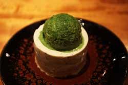 茶葉のヨーグルトケーキ