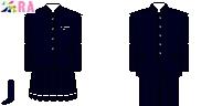 [青森]八戸聖ウルスラ学院高等学校制服ドット絵