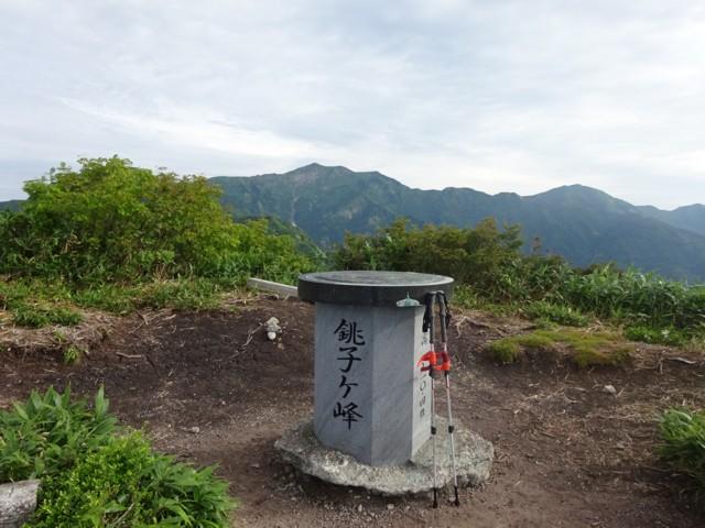 8月11日 銚子ヶ峰(1810m)