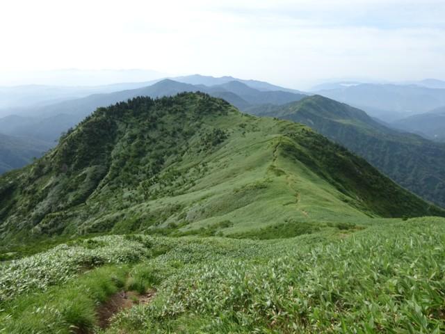 8月11日 二ノ峰を振り返る