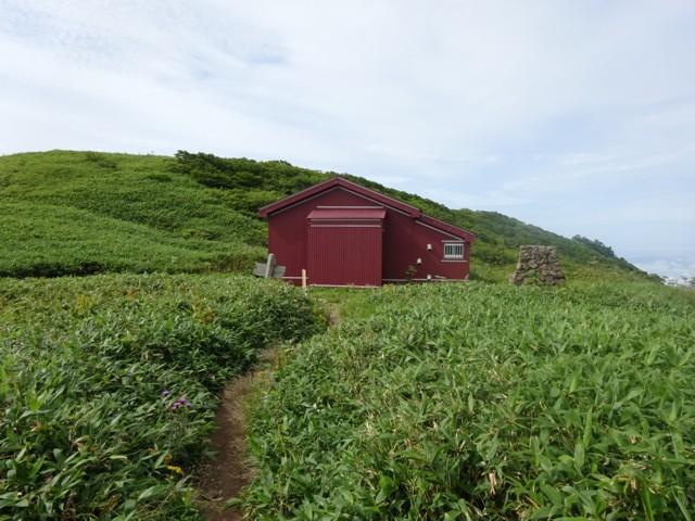 8月11日 三ノ峰避難小屋