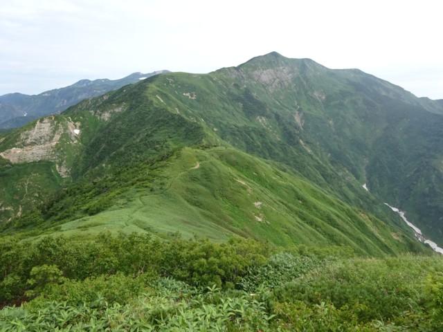 8月11日 別山南面の大平壁