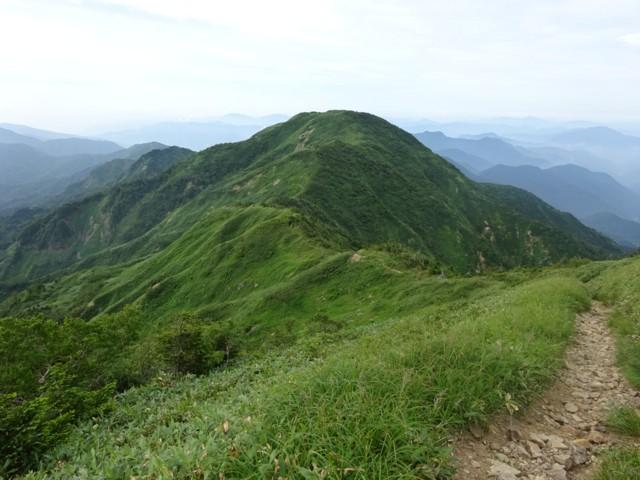 8月11日 三ノ峰を振り返って