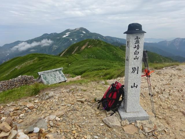 8月11日 別山ピーク(2399m)