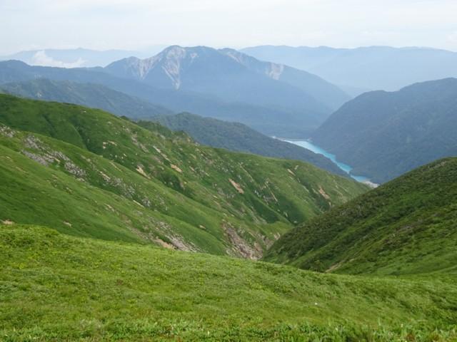 8月11日 三方崩山と白水湖
