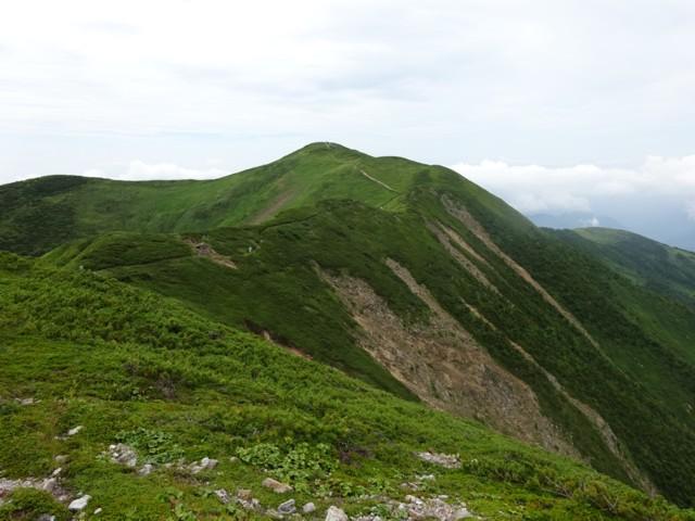 8月11日 御舎利山から別山北側