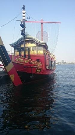 531桟橋船