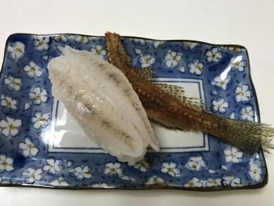 マハゼの握り寿司