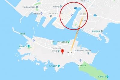 三崎港の北条湾