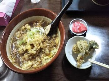 5/1 昼食 つゆ焼きそば  黒石・妙光食堂