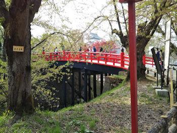 5/1 下乗橋からの弘前城