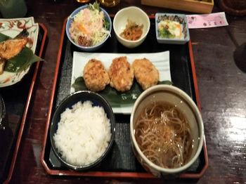 5/1 イガメンチ焼き定食