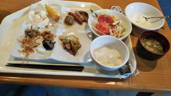 5/2 朝食バイキング  ホテルサンルート青森