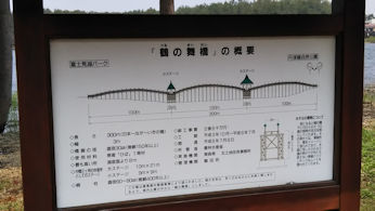 5/2 鶴の舞橋 看板