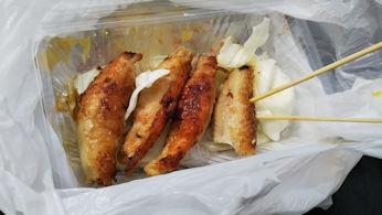 5/20 鶏かわ餃子  静浜航空祭
