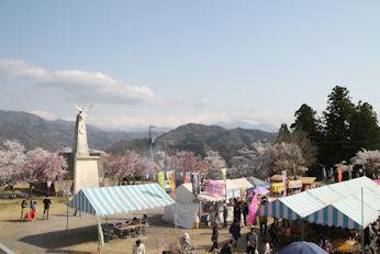3/31 模擬店  大法師桜まつり