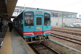 4/7 樽見鉄道 根尾川号  大垣駅で