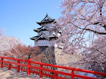 従来の弘前城