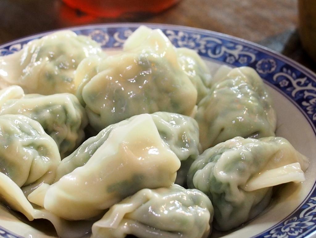 ■ 鴻牛肉湯餃 / 雙城街夜市 店番号29