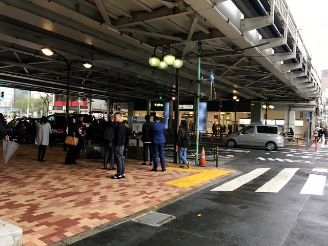 春の寒の戻りで雨降りはじめた東京3@2018年4月17日 by占いとか魔術とか所蔵画像