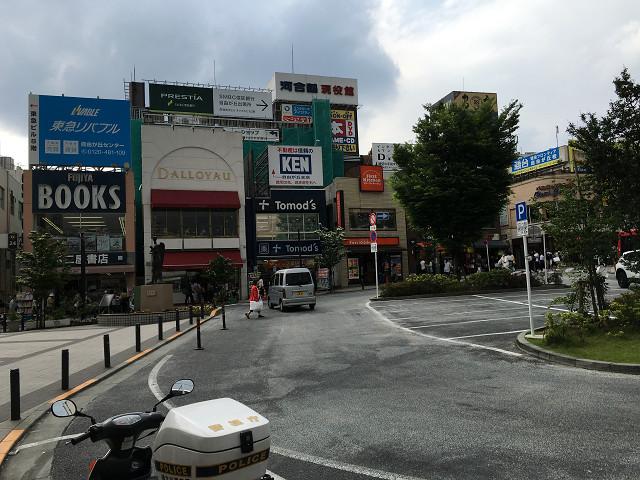 雲が厚く垂れ込める東京1@2018年4月24日 by占いとか魔術とか所蔵画像