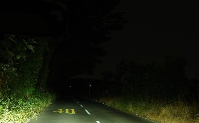 深夜の正丸峠山道 by占いとか魔術とか所蔵画像