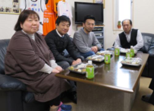 4月の昼食会