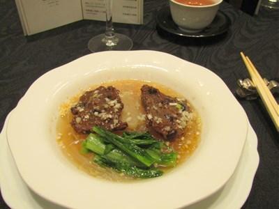 s-国産牛フィレ肉の蒸し物 黒豆風味