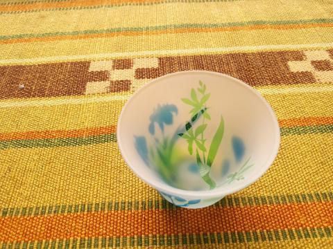 菖蒲と紫蘭