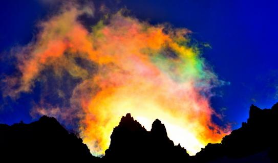 18-鋭峰と彩雲