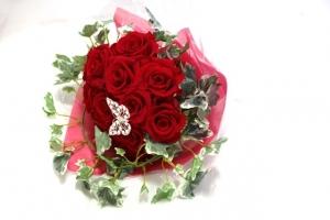 プリザの花束0