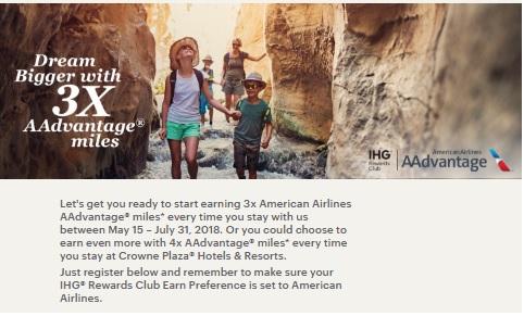 HGリワードクラブ アメリカン航空3倍&4倍AAdvantageマイル