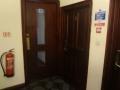 ホテルの部屋のドア