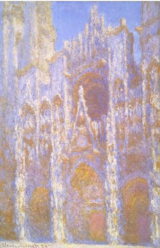 ルーアン大聖堂、正面