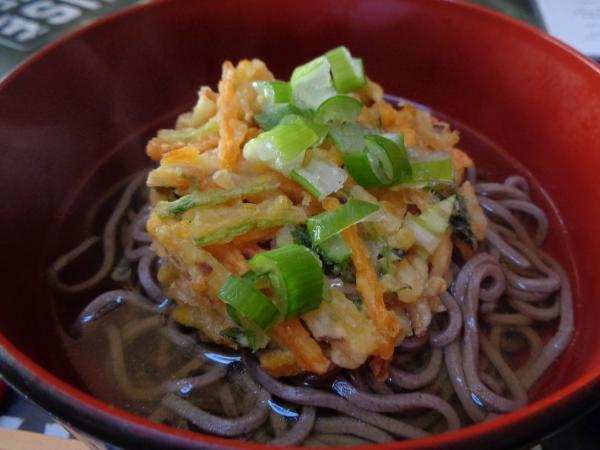 3/30 家食・天ぷらそば