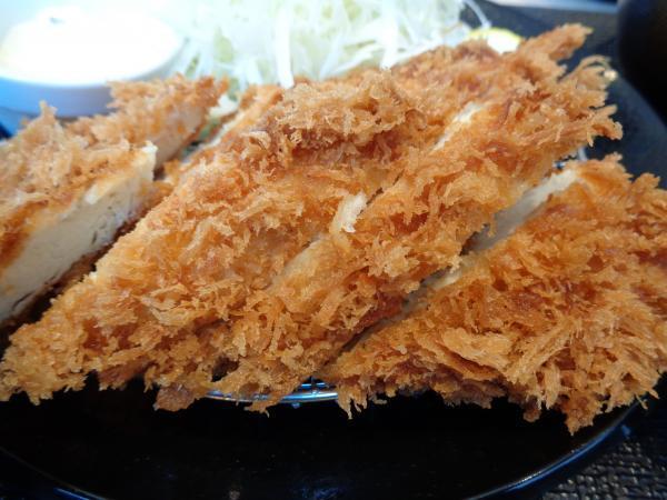 5/12・松のや・鶏ささみフライ