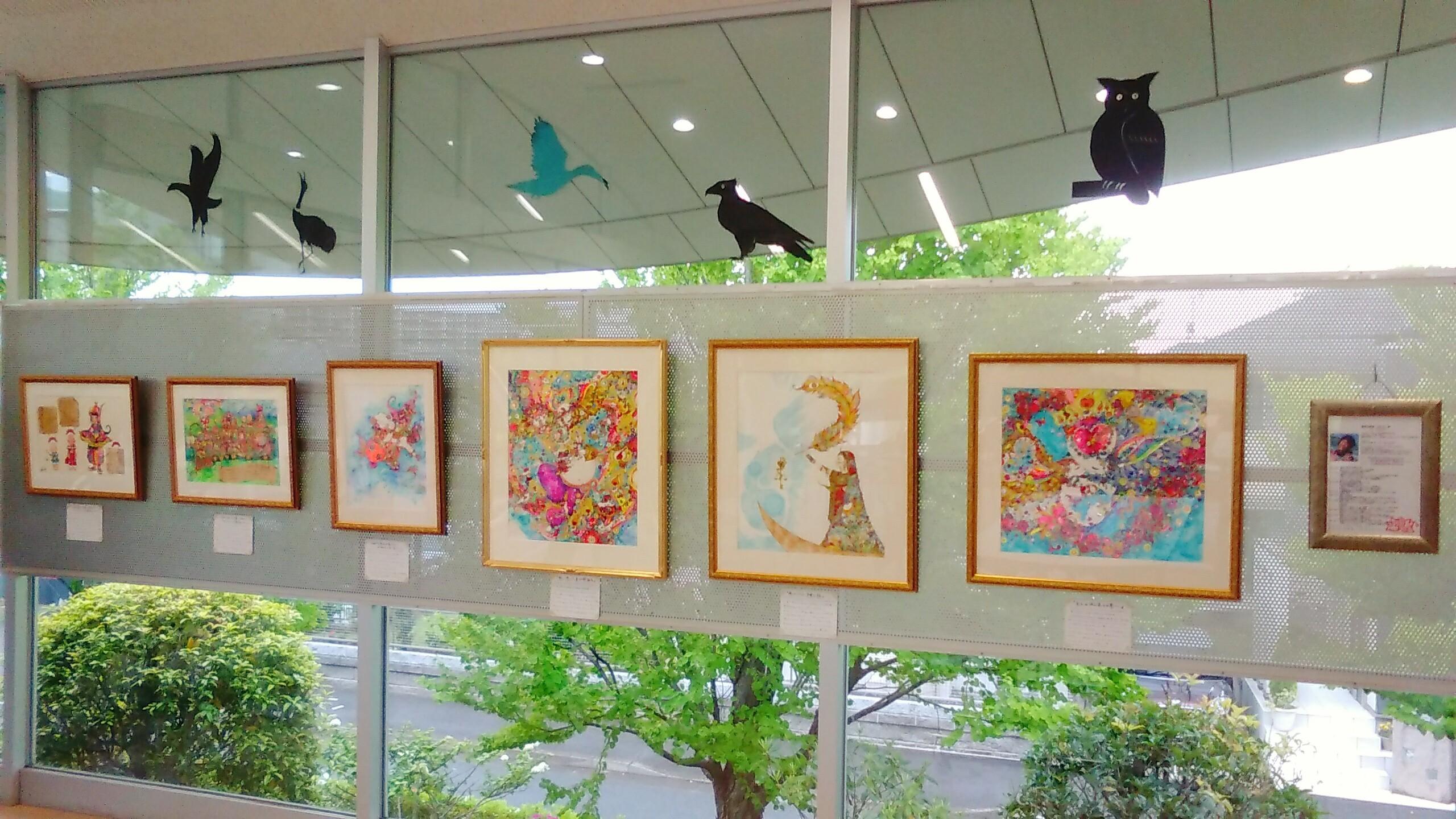 2018 東松戸ゆいの花公園 マグノリアハウス 作品展示