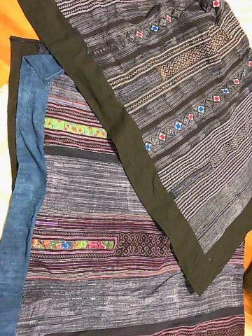 ベトナム織物