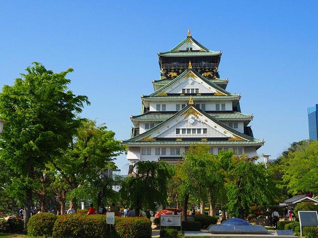 180421大阪城①